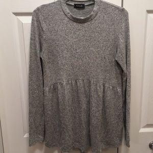 Roolee peplum sweater